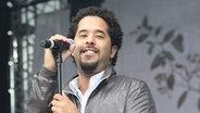Adel Tawil von Ich + Ich bei stars@ndr2, live auf der Bühne am Strand von Timmendorf 2009