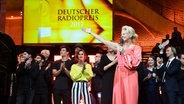 Barbara Schöneberger beim Deutschen Radiopreis 2017. © Deutscher Radiopreis Fotograf: Benjamin Hüllenkremer