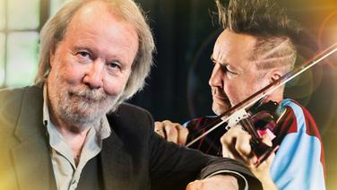 Benny Andersson und Nigel Kennedy. © Knut Koivisto // Sony Classic, Nicolas Hudak - Counter Production Fotograf: Knut Koivisto // Nicolas Hudak - Counter Production