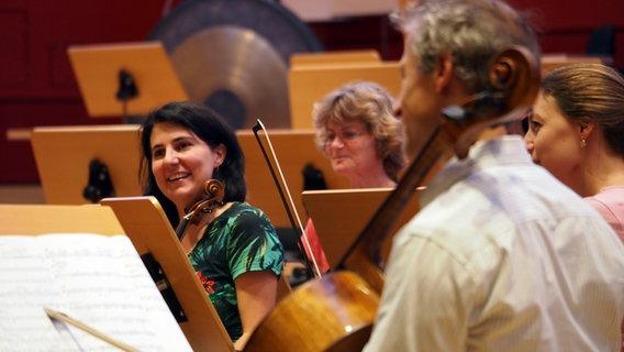 Musiker der NDR Radiophilharmonie © NDR / Amrei Flechsig Foto: Amrei Flechsig