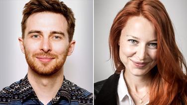 Tim Kehl und Patrizia Schlosser von FluxFM © FluxFM / Sevilay Kirmaz & Jens Oellermann Fotograf: Sevilay Kirmaz & Jens Oellermann