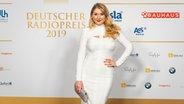Schauspielerin Sandra Quadflieg beim Deutschen Radiopreis 2019. © Deutscher Radiopreis / Benjamin Hüllenkremer Foto: Benjamin Hüllenkremer