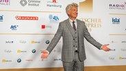 Schauspieler Dominic Raacke auf dem Roten Teppich beim Deutschen Radiopreis 2019. © Deutscher Radiopreis / Benjamin Hüllenkremer Foto: Benjamin Hüllenkremer