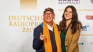 Komiker Otto Waalkes auf dem Roten Teppich beim Deutschen Radiopreis 2019. © Deutscher Radiopreis / Benjamin Hüllenkremer Foto: Benjamin Hüllenkremer