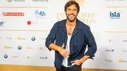Sänger Max Giesinger auf dem Roten Teppich beim Deutschen radiopreis 2019. © Deutscher Radiopreis / Benjamin Hüllenkremer Foto: Benjamin Hüllenkremer
