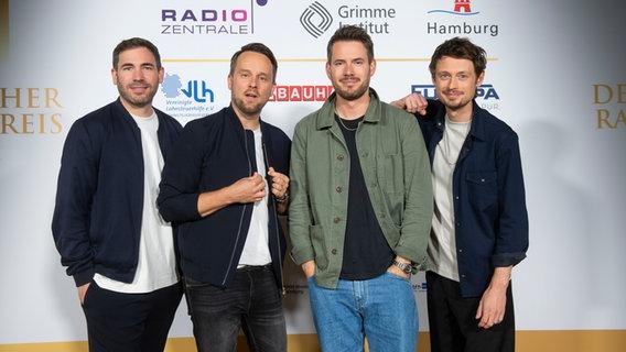 Revolverheld beim Deutschen Radiopreis © Deutscher Radiopreis / Benjamin Hüllenkremer Foto: Benjamin Hüllenkremer