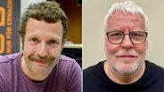 Martin Gottschild und Jürgen König von radioeins (rbb) © rbb / Thomas Ernst Foto: Thomas Ernst