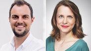 Daniel Spieker und Verena Runne von RTL - Deutschlands Hit-Radio © RTL Audiocenter Berlin GmbH