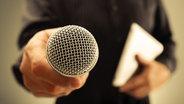 Mikrofon © fotolia.com Fotograf: Brian Jackson
