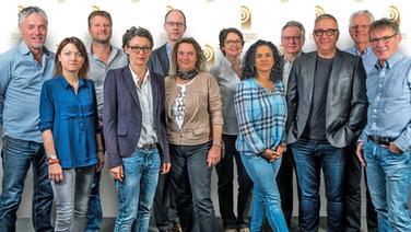 Die Mitglieder der unabhängigen Jury beim Grimme-Institut. © Grimme-Institut / Jack Ackenhausen Fotograf: Jack Ackenhausen