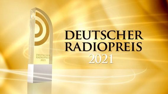Trophäe für die Gewinner des Deutschen Radiopreises 2021 © Deutscher Radiopreis