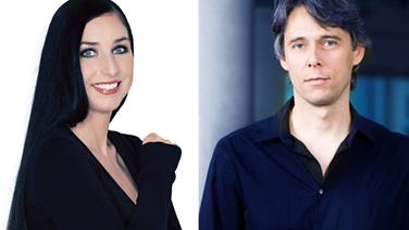 "Bettina Zacher und Stephan Heller, Klassik Radio, nominiert in der Kategorie ""Beste Programmaktion"" © Klassik Radio"