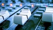 Audio-Fader am Mischpult © Valeriy Poltorak - Fotolia Fotograf: Valeriy Poltorak