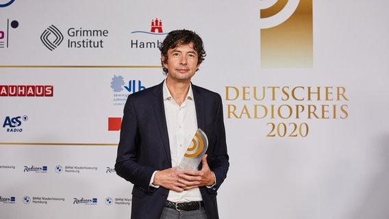 Christian Drosten, der Leiter der Virologie an der Berliner Charité © Deutscher Radiopreis / Morris Mac Matzen Foto: Morris Mac Matzen