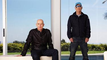 Neil Tennant (li.) und Chris Lowe von den Pet Shop Boys (2012) © Ann Suma Fotograf: Ann Suma